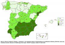 Mapa prevalencia Ehrlichia canis 2021